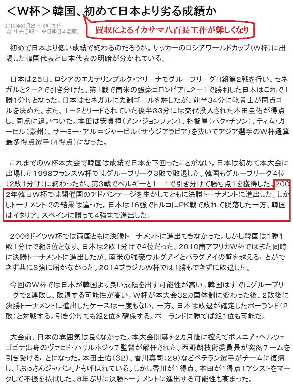 チョン日報「八百長が難しくなり日本に成績で負けるニダ」