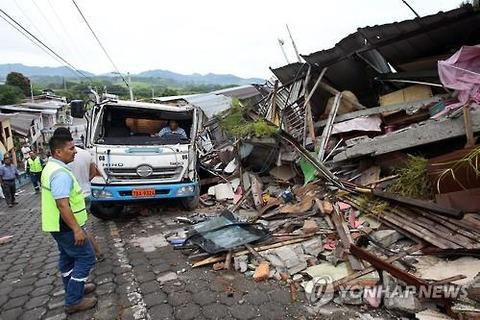 エクアドル地震2