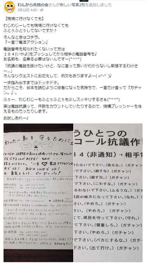 沖縄の反日シナチョン左翼2