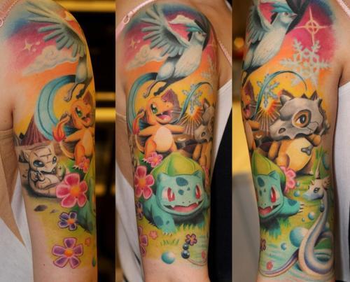 海外でアニメのタトゥーを入れる人達14