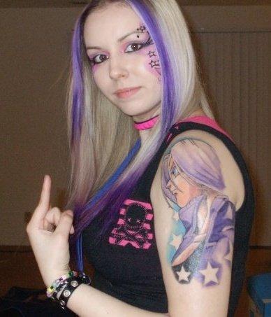 海外でアニメのタトゥーを入れる人達23