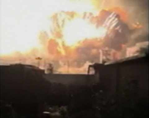 天津爆発13