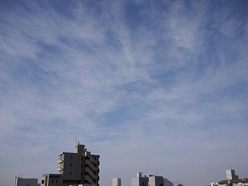 2009年12月27日の空