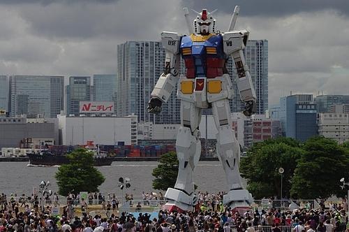 20090729お台場潮風公園(ガンダム)