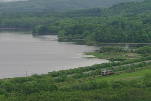 釧路湿原 サルルン展望台
