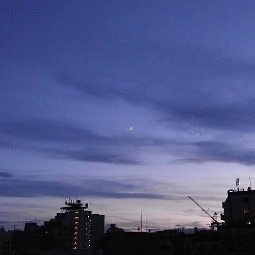 20090727夕焼け