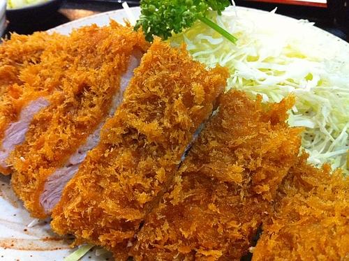 大森:五郎のとんかつ、ロースカツ定食。大森界隈で一番美味しいトンカツ屋だと思う。