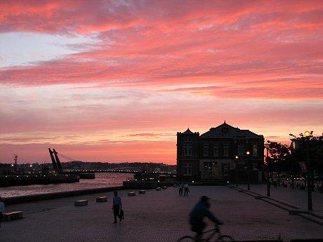 門司港の夕景11