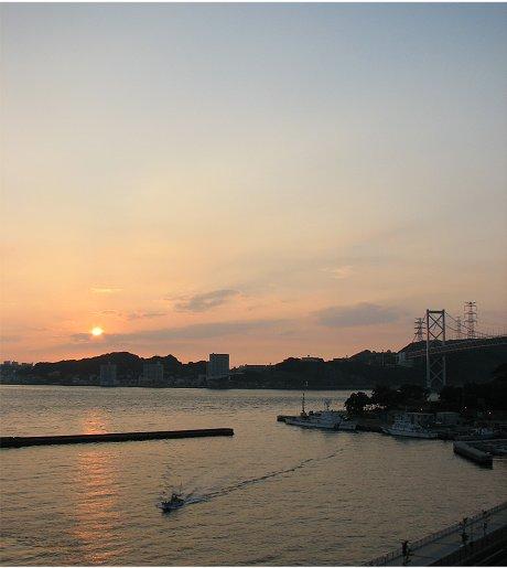 門司港の夕景15