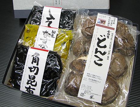 椎茸・佃煮セット
