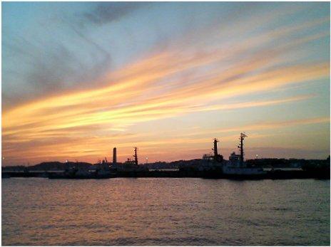 門司港の夕景17