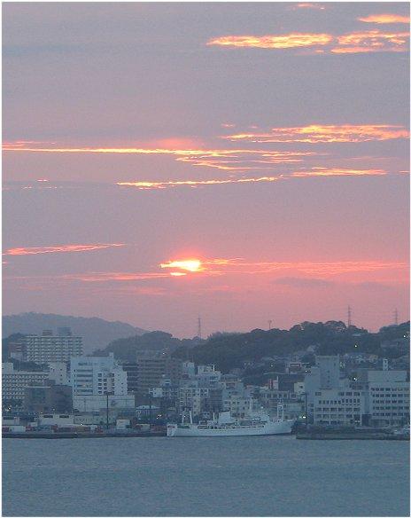 門司港の夕景12