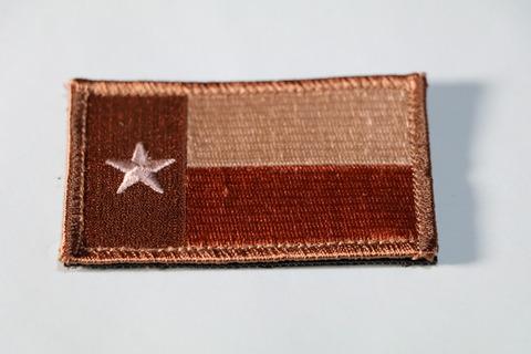 Minotaurtac US テキサス州旗 The Lone Star デザートカラー パッチ