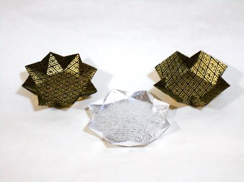 8角形皿 3種