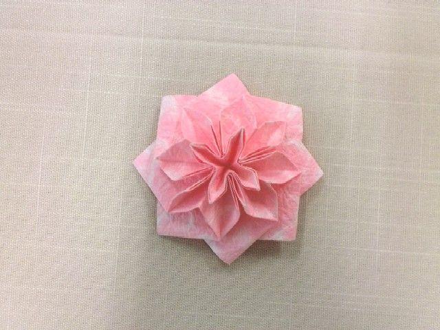 簡単 折り紙 折り紙 難しい 花 : blog.livedoor.jp