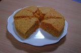キャロットケーキカット