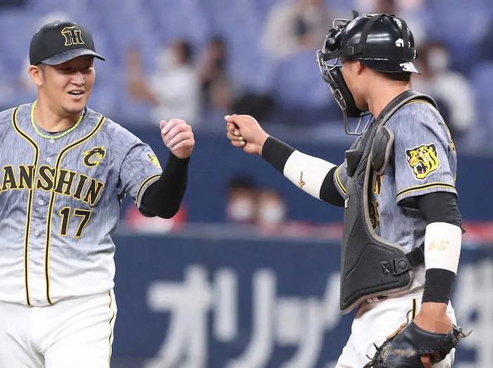 阪神・榮枝裕貴 春季キャンプ以来の1軍実戦で堂々4投手を無失点リード「投手のいいところ引き出せた」