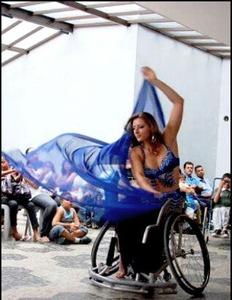 wheelchair bellydancer