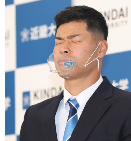 【野球】ドラフト中継で異変 阪神交渉権の近大・佐藤渋い表情…直後にワイプ画面消えた!#はと「阪神は嫌なのかな」