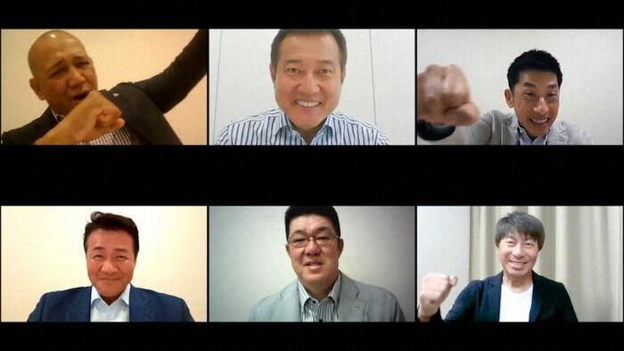 セ6球団監督がテレビ会議 ラミレス監督「優勝します!」に矢野監督「こっちの台詞」