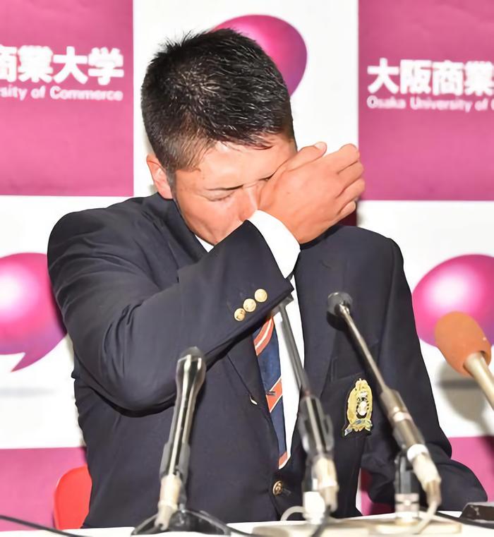 阪神育成1位小野寺悔し涙「必ず支配下に上がって、レギュラーになって母親を楽にさせたい」