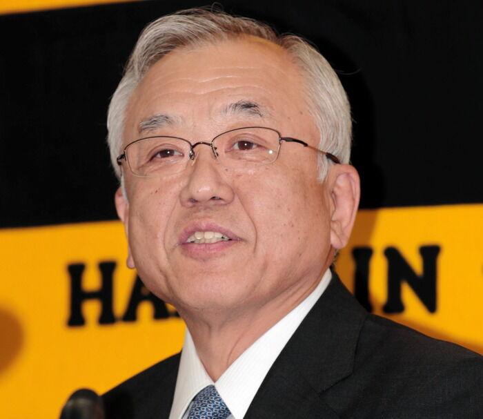 阪神・藤原オーナーと谷本本部長が謝罪「地域の皆さんにも迷惑をかけて申し訳ない」