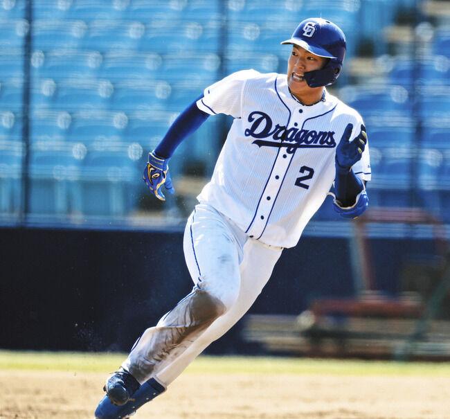 石川昂弥フェンス上段3塁打!石川翔最速151㌔完璧投球!郡司2打点の活躍!