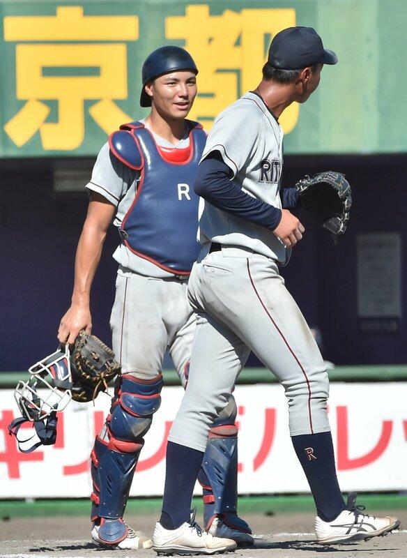 立命館大・栄枝裕貴が阪神から4位指名 大学屈指の強肩捕手