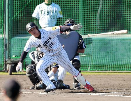 阪神・俊介は残留「タイガースの力になりたい」FA権は行使せず