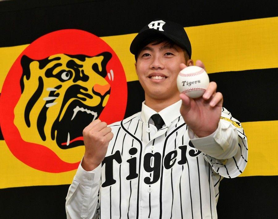 阪神 呂彦青が入団会見「能見さんのような投手に」台湾アマのナンバー1左腕