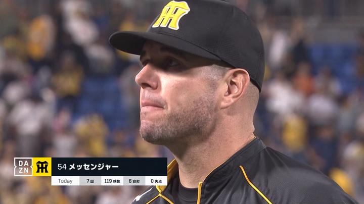 阪神メッセンジャー、今季DeNA戦は6戦6勝「なんでかわからない(笑)」