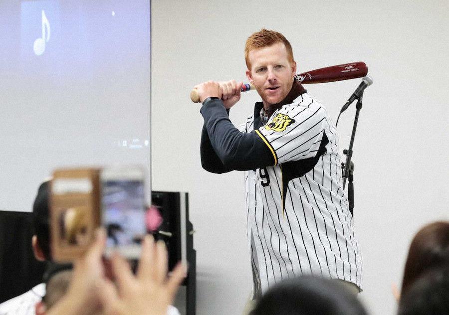 高校野球大好きマートン氏 阪神2位指名の履正社・井上にアツいエール「彼の夢をかなえた」