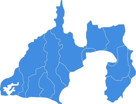 静岡とかいう都会ではないが田舎でもない県