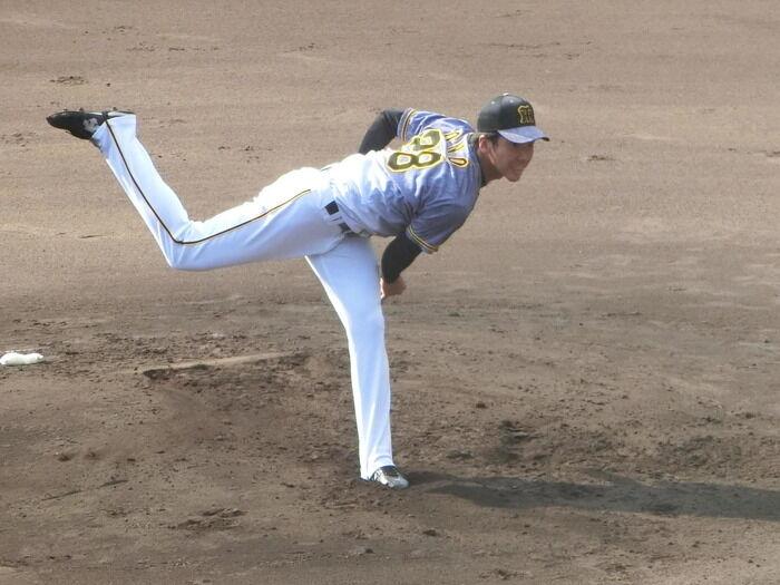 阪神小野6回1失点の快投「オフからしっかりやる」