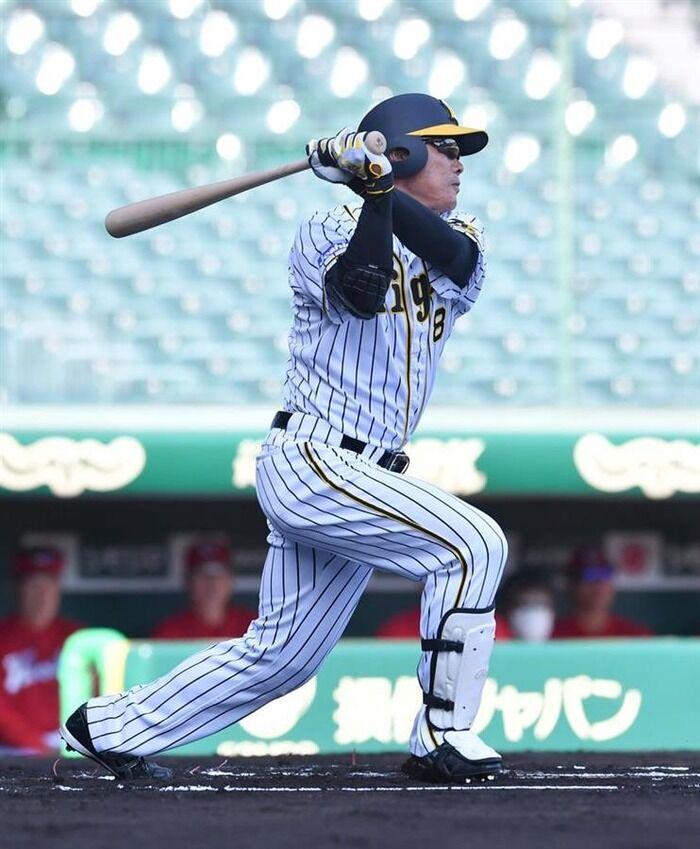 阪神・福留、3打数1安打「違和感なし」
