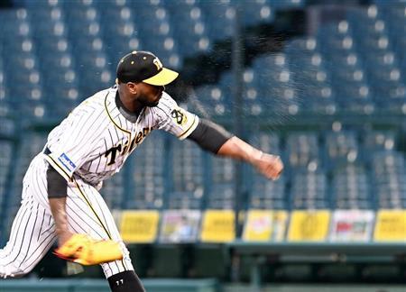 阪神・ガルシア、6回1安打無失点の快投「いい感覚で投げることができた」