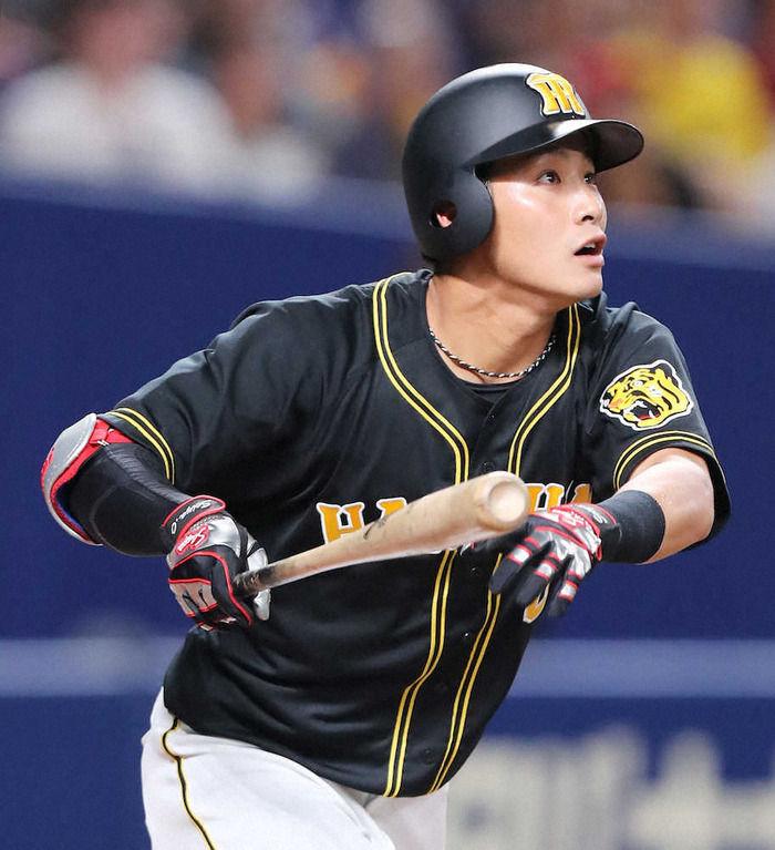 阪神木浪聖也 .262(363-95) 4本32打点 出塁率.302 OPS.657 WAR-1.2