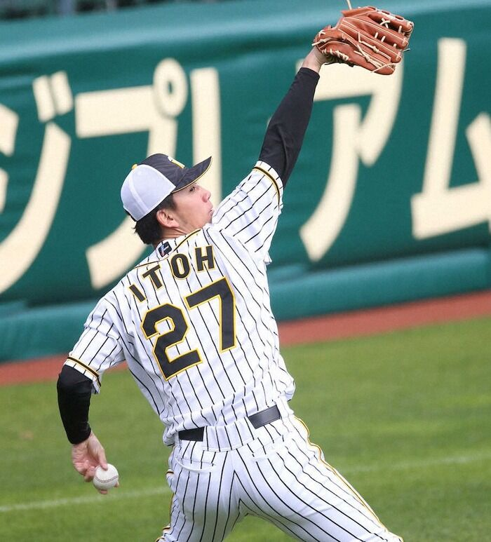 阪神・ドラフト2位ルーキー伊藤将司 狙え、虎の快挙!巨人戦初登板でプロ初勝利なら球団初 岡本和斬りに意欲「抑えたい」