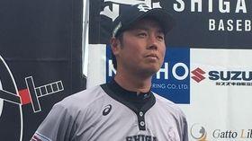 滋賀ユナイテッドの上園監督(元阪神タイガース)、ホーム初勝利を挙げる(土井麻由実)