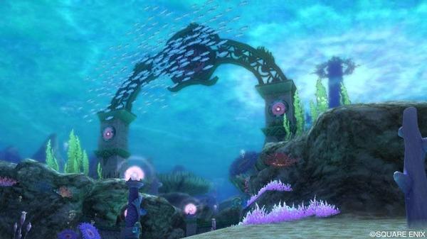 オーフィーヌ海底
