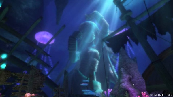 深海のほこら 出口