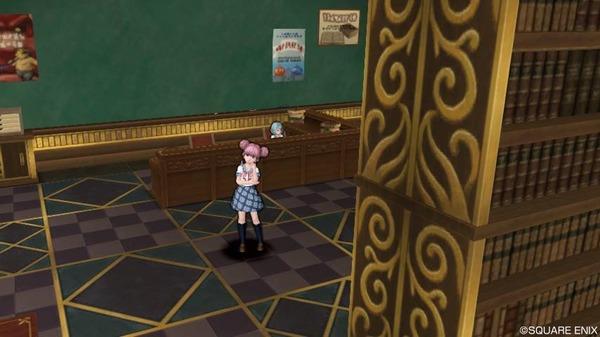 第1本校舎 2階―図書室