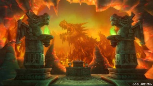 ナドラガ神のほこら ナドラガの神のほこら・炎