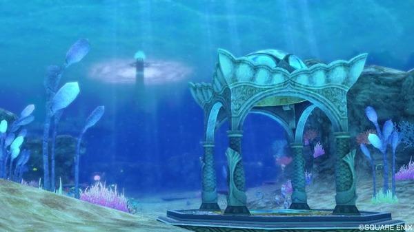 オーフィーヌ海底 晴れの海