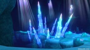 カーレルの氷雪洞 地底湖
