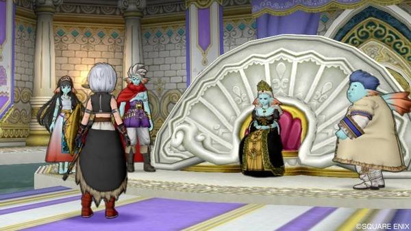 ヴェリナード城 女王の間