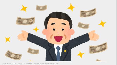 お金バラマキ②
