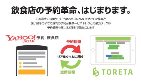 Yahoo!飲食店 予約連携