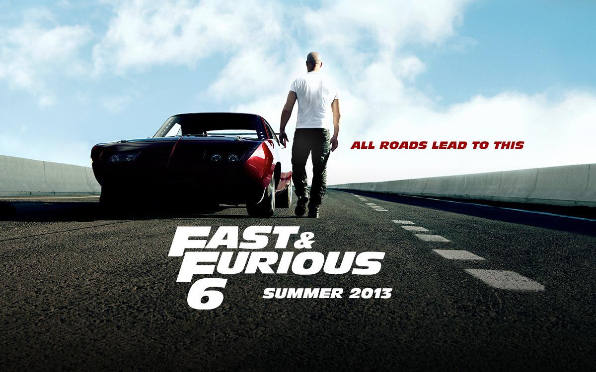 FF6 Tyrese Gibson and Ludacris 初期の頃は主人公だった ブライアン
