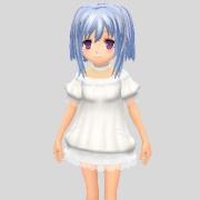isw白ふわドレス